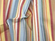 Stripe Print Cotton Dress Fabric  Multicoloured