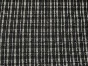 Raised Woven Check Dress Fabric