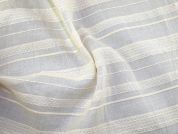 Stripe Gauze Fabric  Cream