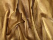 Plain Polyester Velboa Dress Fabric  Camel