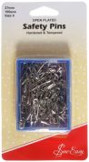 Sew Easy Quilters Open Plated Safety Pins