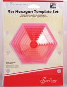 Sew Easy Hexagonal Quilting Template Set