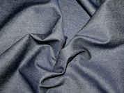 14oz Heavy Cotton Denim Fabric  Indigo Blue