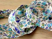 Essential Trimmings Ditsy Flower Print Cotton Bias Binding Tape