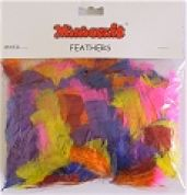 Minicraft Marabou Craft Feathers  Assorted Colours