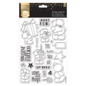 DoCrafts Classic Decadence A5 Clear Stamp Set