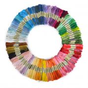 Craft Factory Embroidery & Cross Stitch Threads Floss Skeins  Assorted Colours