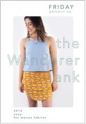 Friday Pattern Company Sewing Pattern Wanderer Tank