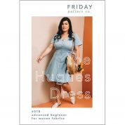 Friday Pattern Company Sewing Pattern Hughes Dress