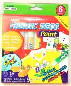 Amos Fabric Painting Kit  Assorted Colours