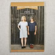 Fancy Tiger Crafts Ladies Easy Sewing Pattern Fen Top & Dress