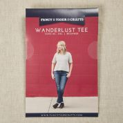 Fancy Tiger Crafts Ladies Easy Sewing Pattern Wanderlust Tee