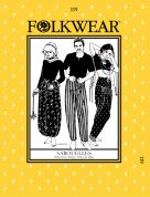 Folkwear Patterns Ladies & Mens Sewing Pattern Sarouelles Pants