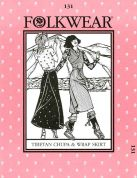 Folkwear Patterns Sewing Pattern Tibetan Chupa Skirt & Dress