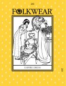 Folkwear Patterns Ladies Sewing Pattern Empire Dress