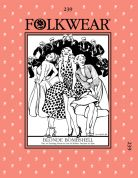 Folkwear Patterns Ladies Sewing Pattern Blonde Bombshell