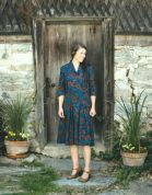 Folkwear Patterns Sewing Pattern Lindy Shirtdress