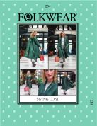 Folkwear Patterns Ladies Sewing Pattern Swing Coat
