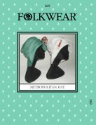 Folkwear Patterns Ladies Sewing Pattern Metropolitan Hat