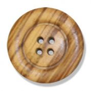 Impex Olive Wood 4 Hole Buttons