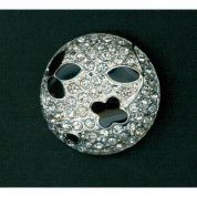 Glass Diamante Buttons