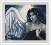 Luca-S Counted Petit Point Cross Stitch Kit Seductive Angel