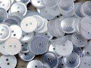 Impex Round Plain Shirt Buttons