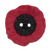 Poppy Button 2 Hole 20mm