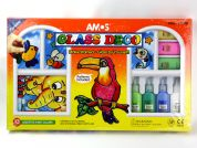 Amos Glass Deco Stained Glass Kit Large