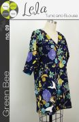 Green Bee Ladies Sewing Pattern Lela Tunic & Blouse Tops