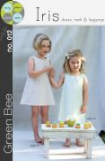 Green Bee Girls Sewing Pattern Iris Dress, Tank & Leggings