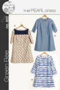 Green Bee Ladies Sewing Pattern Pearl Shift Dress
