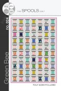 Green Bee Sewing Spool Quilt Pattern