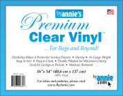 By Annie Clear Vinyl Fabric  Clear