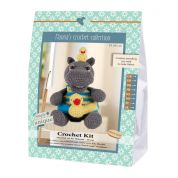 Go Handmade Toy Crochet Kit Helmut the Hippo