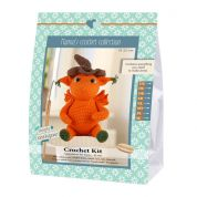 Go Handmade Toy Crochet Kit Jonas the Dragon