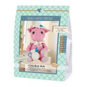 Go Handmade Toy Crochet Kit Hillary the Pig
