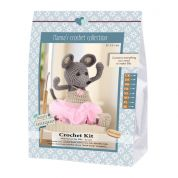 Go Handmade Toy Crochet Kit Ella the Mouse