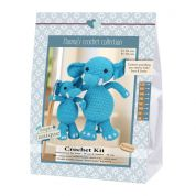 Go Handmade Toy Crochet Kit Sara & Simba the Elephants
