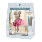 Go Handmade Toy Crochet Kit Emily the Mouse
