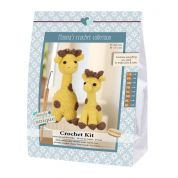 Go Handmade Toy Crochet Kit Julia & Lotta the Giraffes