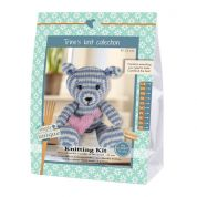 Go Handmade Toy Knitting Kit Camille the Bear