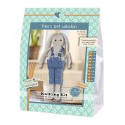 Go Handmade Toy Knitting Kit Lukas & Buddy the Rabbits