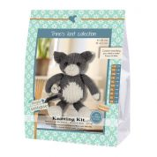 Go Handmade Toy Knitting Kit Simon & Mats the Cat & Mouse