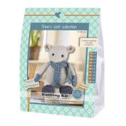 Go Handmade Toy Knitting Kit Luis the Mouse
