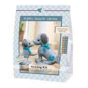 Go Handmade Toy Sewing Kit Mulle & Julle the Dogs