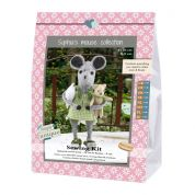Go Handmade Toy Sewing Kit Joan & Buster the Mouse & Teddy Sisters