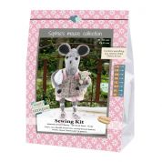 Go Handmade Toy Sewing Kit Cherry & Line the Mouse & Teddy Sisters