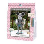 Go Handmade Toy Sewing Kit Ida & Felix the Mouse & Teddy Sisters