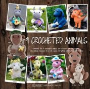 Go Handmade Toy Crochet Pattern Book 9 Crocheted Animals